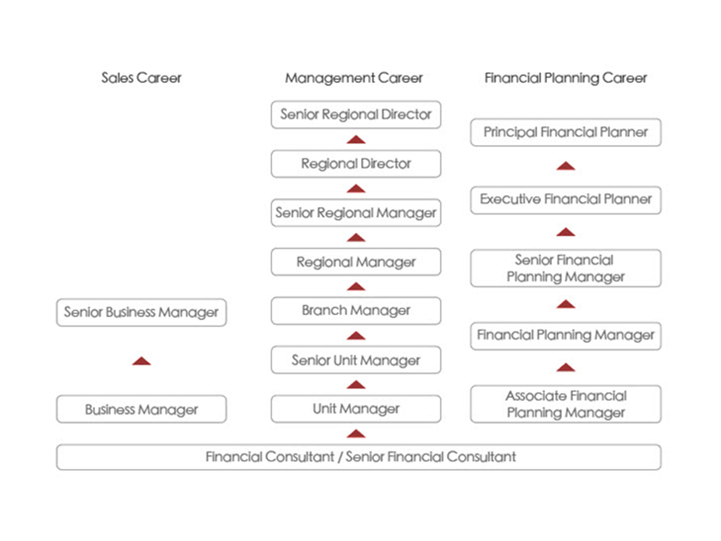 Career path of a Prudential financial consultant